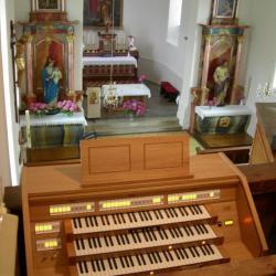 EGLISE St PIERRE et PAUL ( 1820 ) de KIFFIS ( Opus 3 claviers )
