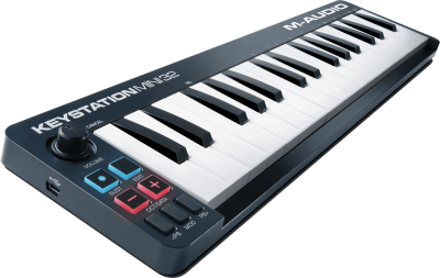 M-AUDIO KEY-MINI32-II clavier maitre MIDI-USB 32 mini-touches