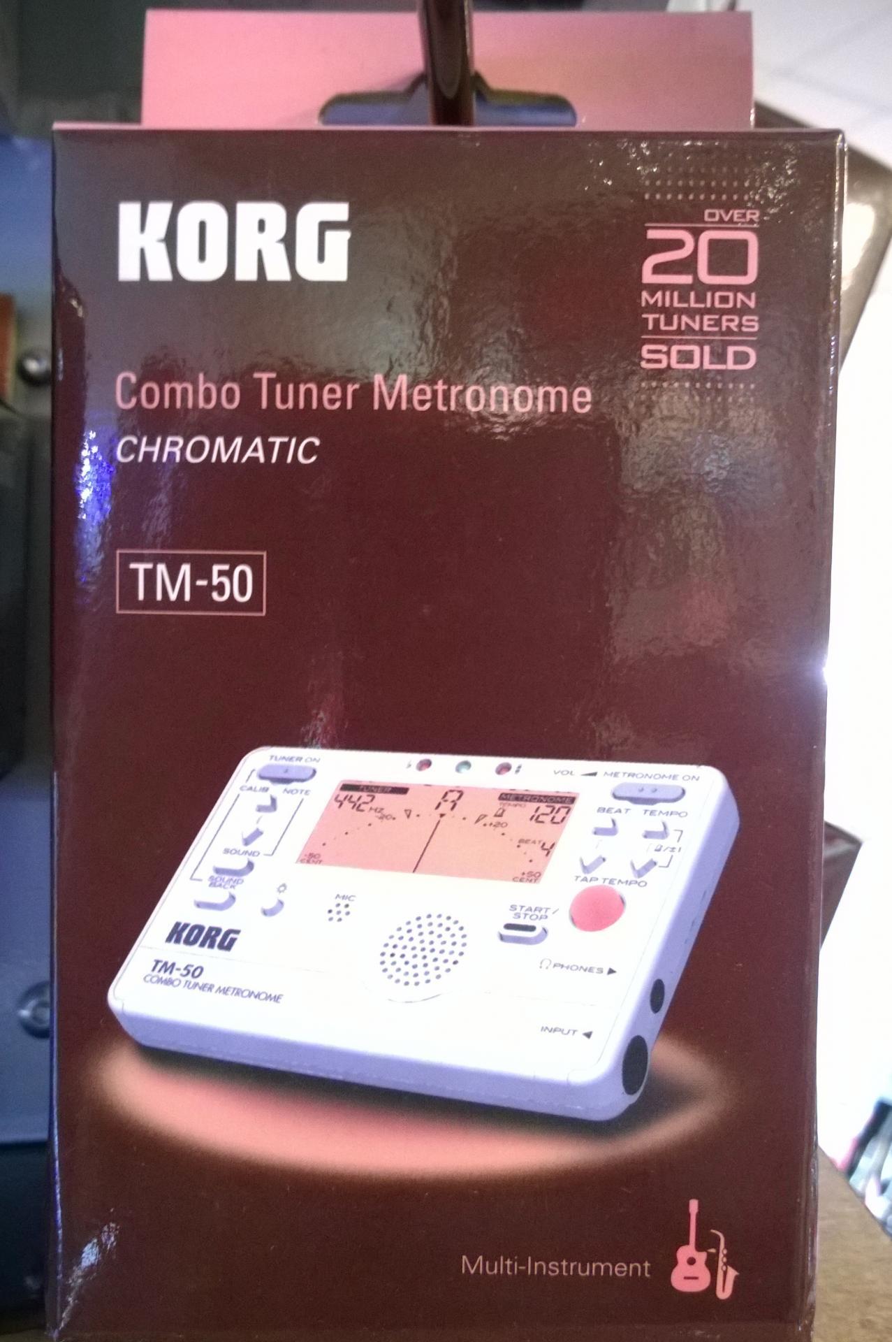 Korg tm50 tuner metronome