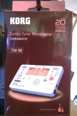 ACCORDEUR-METRONOME Chromatique TM-50-PW blanc  KORG