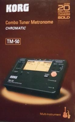ACCORDEUR-METRONOME Chromatique TM-50-BK noir  KORG