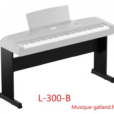 Stand YAMAHA L300-B pour pianos DGX670 noir