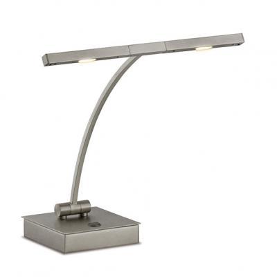 GAL-4004  QUARTET  Lampe de piano droit  Platine mat - LED