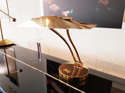 GAL-6469 PYRAMIDE Lampe de piano droit - Laiton brillant