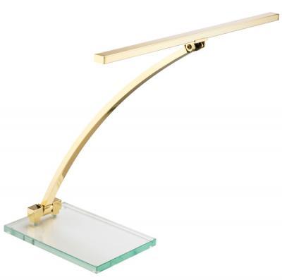 GAL-8413 LEGATO Lampe de piano droit   laiton mat - LED