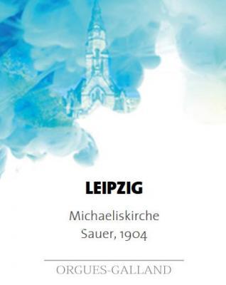 LEIPZIG : Eglise ST MICHAELISKIRCHE de LEIPZIG  /  ECHANTILLONS