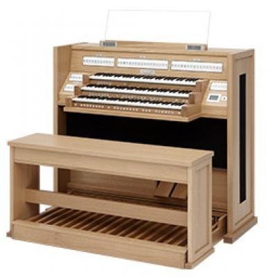 LIVE 3T JOHANNUS orgue 3 claviers 52 registres +finition chêne clair