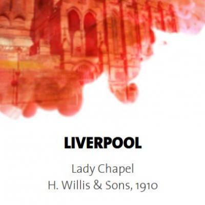 LIVERPOOL: Cathédrale LADY-CHAPEL /  ECHANTILLONS