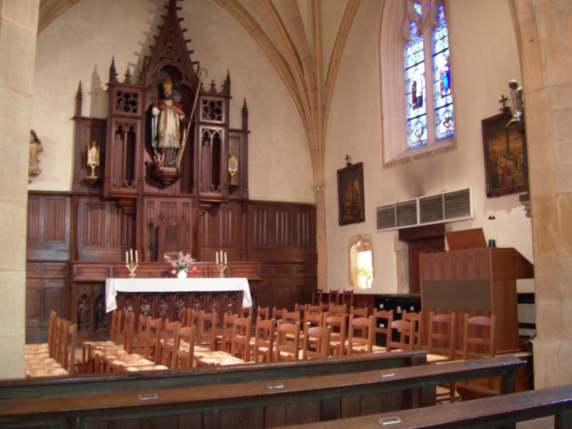 EGLISE Saint Nicolas ( 1480 ) à MEURSAULT