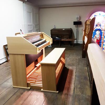 ECCLESIA CHOIR JOHANNUS orgue de Chapelle à 26 jeux