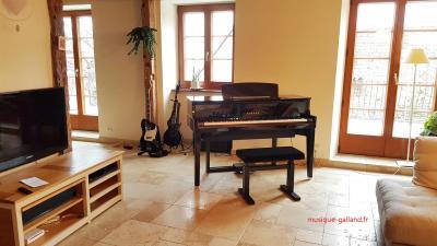YAMAHA N1X noir brillant HYBRIDE avec mécanique piano à queue (Monté)