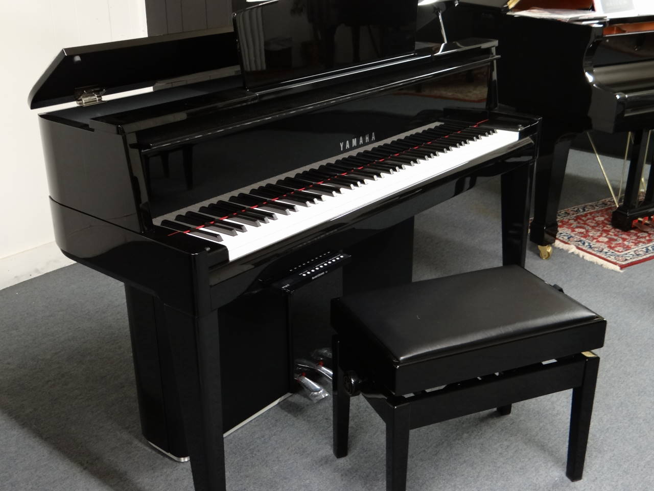 yamaha n2 hybride avantgrand avec m canique de piano queue