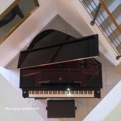 YAMAHA N3X noir brillant HYBRIDE avec mécanique piano à queue