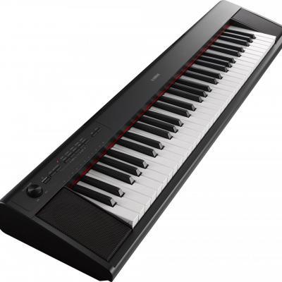 Piano portable YAMAHA NP12-B noir  Piaggero 61 notes (Arrivage25/08)