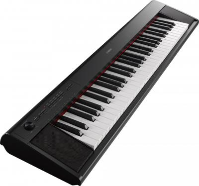Piano portable YAMAHA NP12-B noir  Piaggero 61 notes