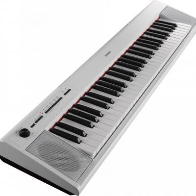 Piano portable YAMAHA NP12-WH blanc  Piaggero 61 notes (Disponible)