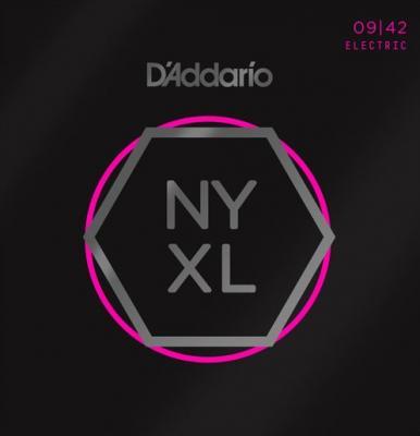 D'ADDARIO NYXL 09-42 Play Ferlessly USA jeu de cordes ELECTRIQUE