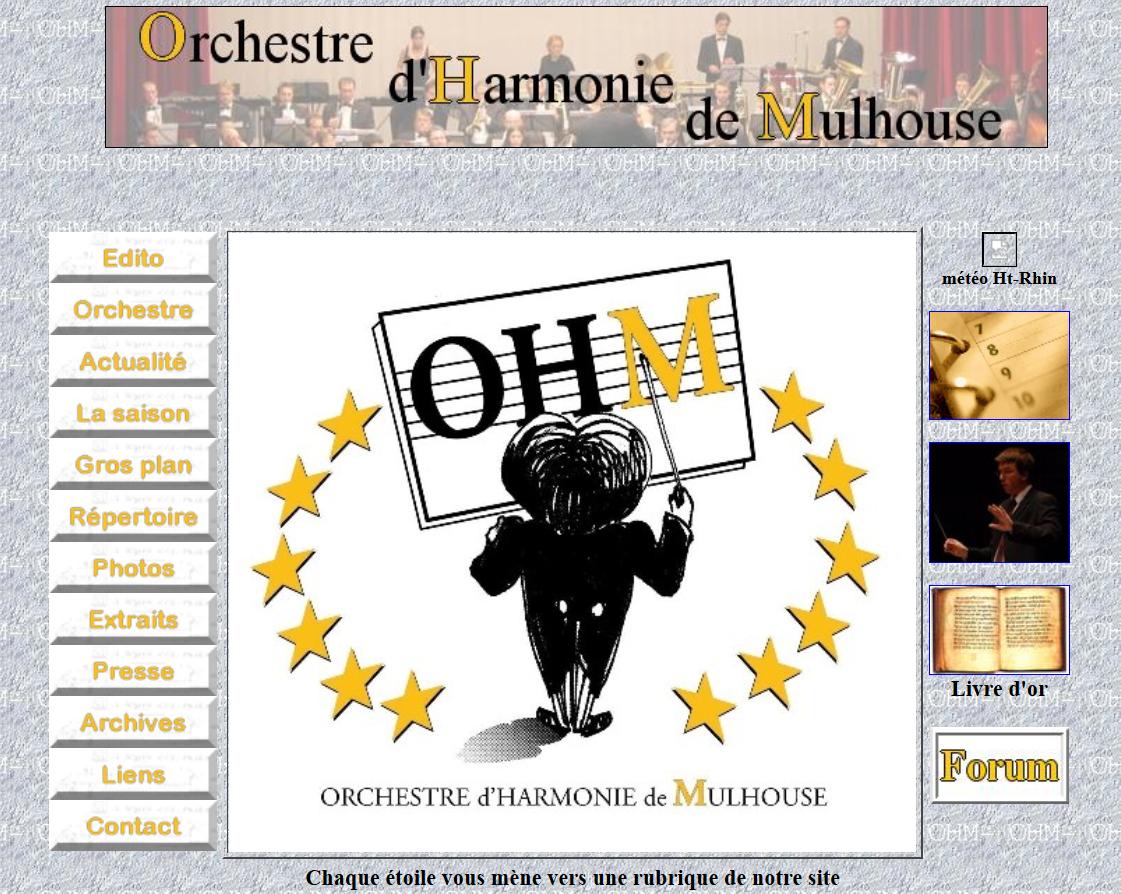 ECOLE de MUSIQUE : MULHOUSE : Orchestre d'Harmonie de Mulhouse