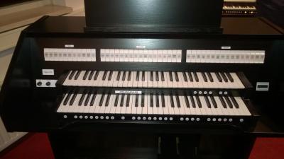 OPUS 250 JOHANNUS orgue d'étude 2 claviers - Noir satiné