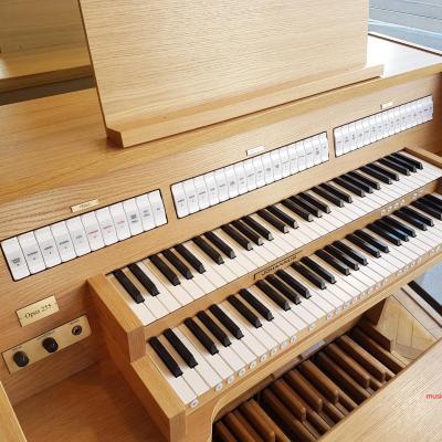 OPUS 255 JOHANNUS orgue d'étude 2 claviers - Chêne clair