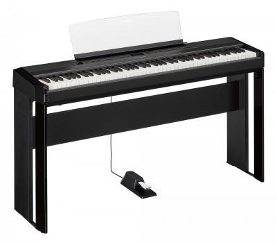Stand YAMAHA L-515-B noir pour pianos P515