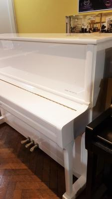 Piano neuf WILH.STEINBERG P118-BLANC (Disponible)
