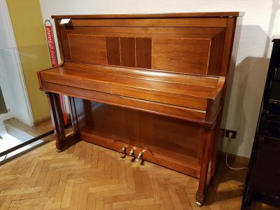 Piano droit d'occasion PLEYEL P124 Noyer Marqueté ( France)