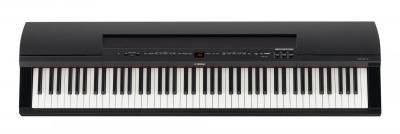 YAMAHA P255-B clavier piano portable en noir satiné