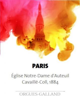 PARIS : Notre-Dame d'Auteuil  /  ECHANTILLONS