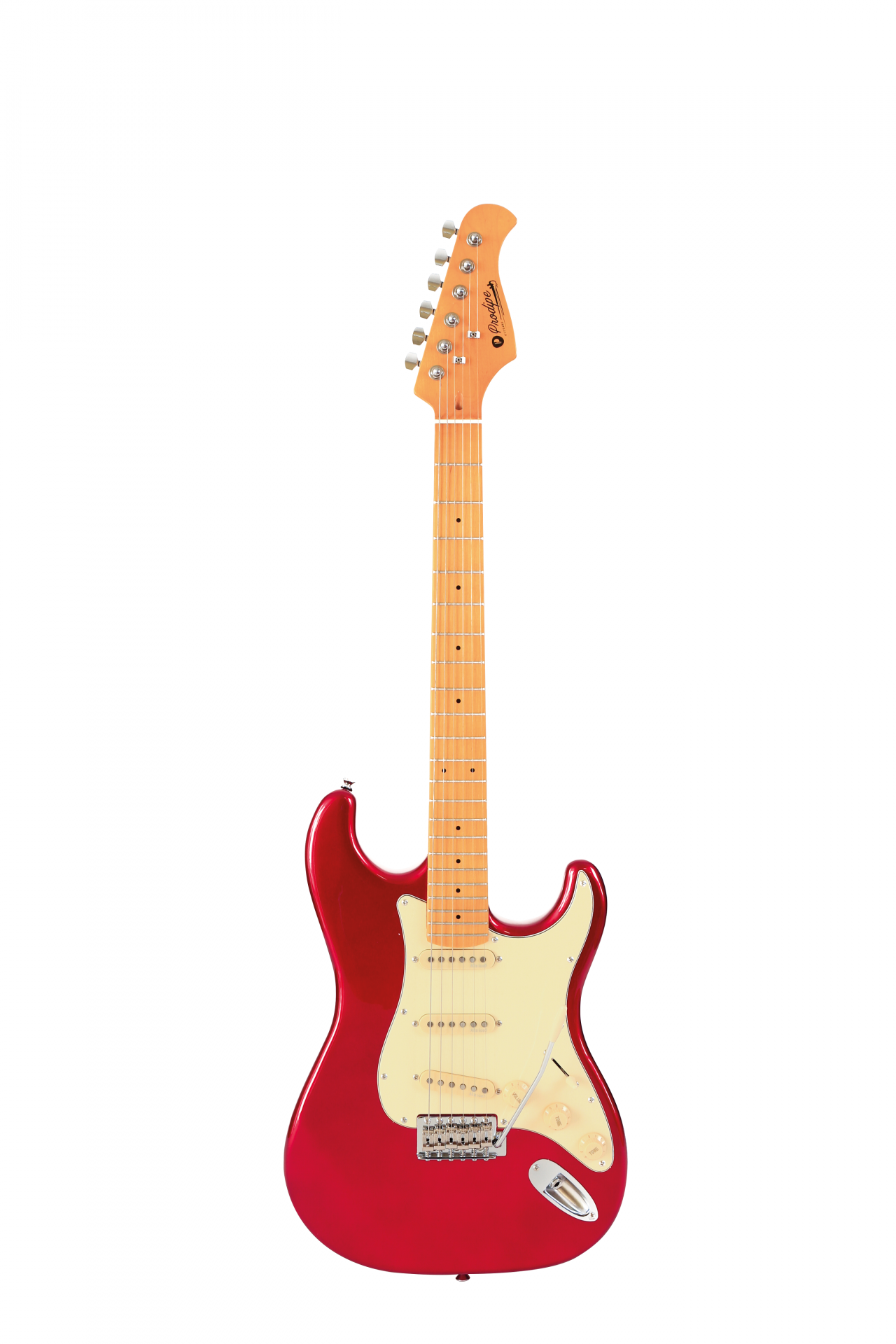 Prodipe guitars st80macandy red face