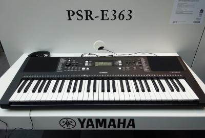 Claviers yamaha for Yamaha psr e363