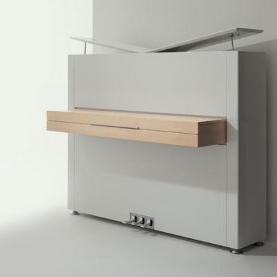Piano neuf SAUTER 122-PURE-BASIC  blanc mat & érable