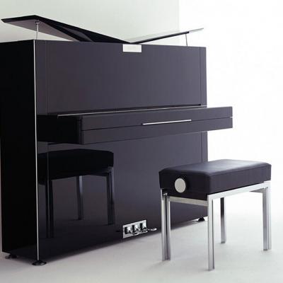 Piano neuf SAUTER  122-PURE-NOBLE noir brillant