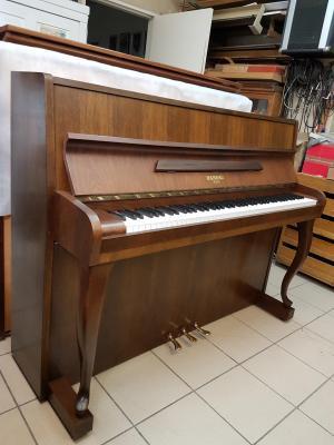 RAMEAU  Piano droit d'occasion noyer foncé 115 cm