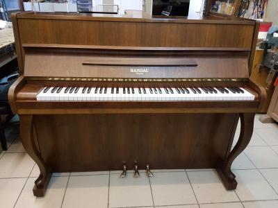 LOCATION-TEST d'un piano droit RAMEAU noyer ( occasion )