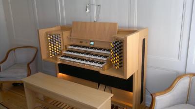 REMBRANDT 350 JOHANNUS orgue d'interprétation +finition chêne clair