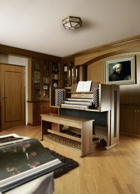 REMBRANDT 350 JOHANNUS orgue d'interprétation + finition chêne foncé