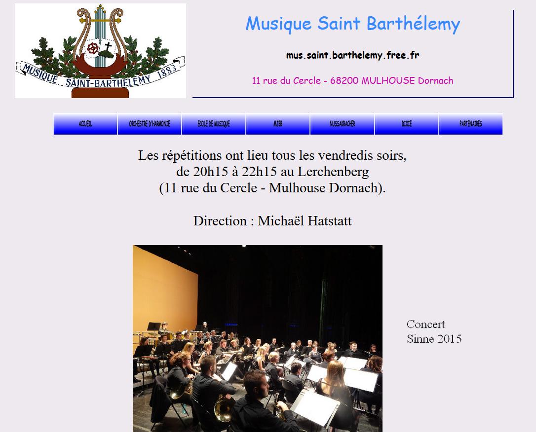 ECOLE de MUSIQUE : MULHOUSE St Barthelemy