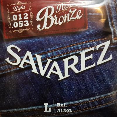 SAVAREZ 12-53  LIGHT A130L jeu de cordes Folk bronze