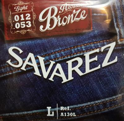 SAVAREZ 12-53  LIGHT A130L jeu de cordes Folk bronze