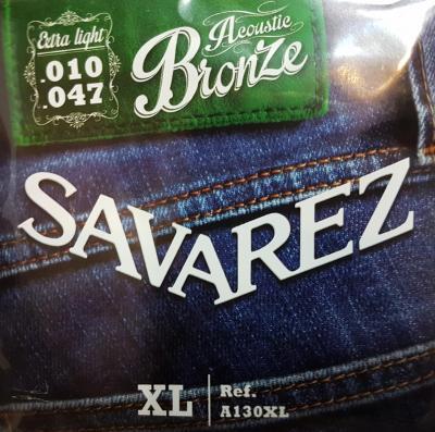 SAVAREZ 10-47  EXTRA-LIGHT A130XL jeu de cordes Folk bronze