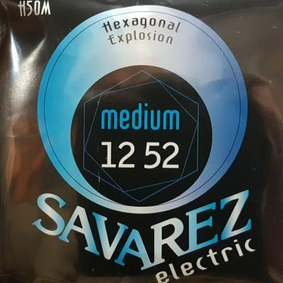SAVAREZ H50M 12-52 MEDIUM jeu de cordes Guitare Electrique