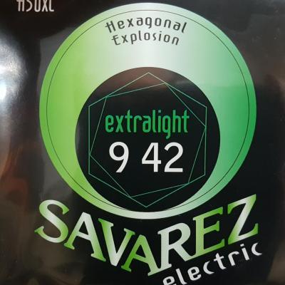 SAVAREZ H50XL 09-42 EXTRA LIGHT jeu de cordes Guitare Electrique