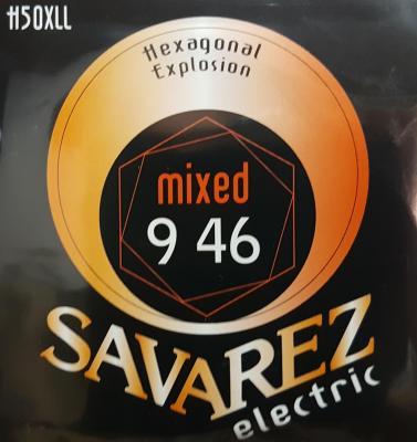 SAVAREZ H50XLL 9-46 Mixed jeu de cordes Guitare Electrique