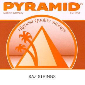 Jeu de cordes pour SAZ à tête longue PYRAMID 675/7
