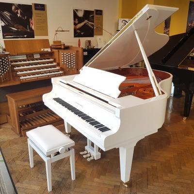 Piano à queue SCHIMMEL C189T TRADITION blanc brillant 189 cm