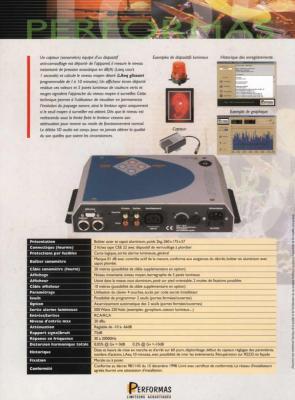 Limiteur acoustique Débéa SD AUDIO avec affichage déporté