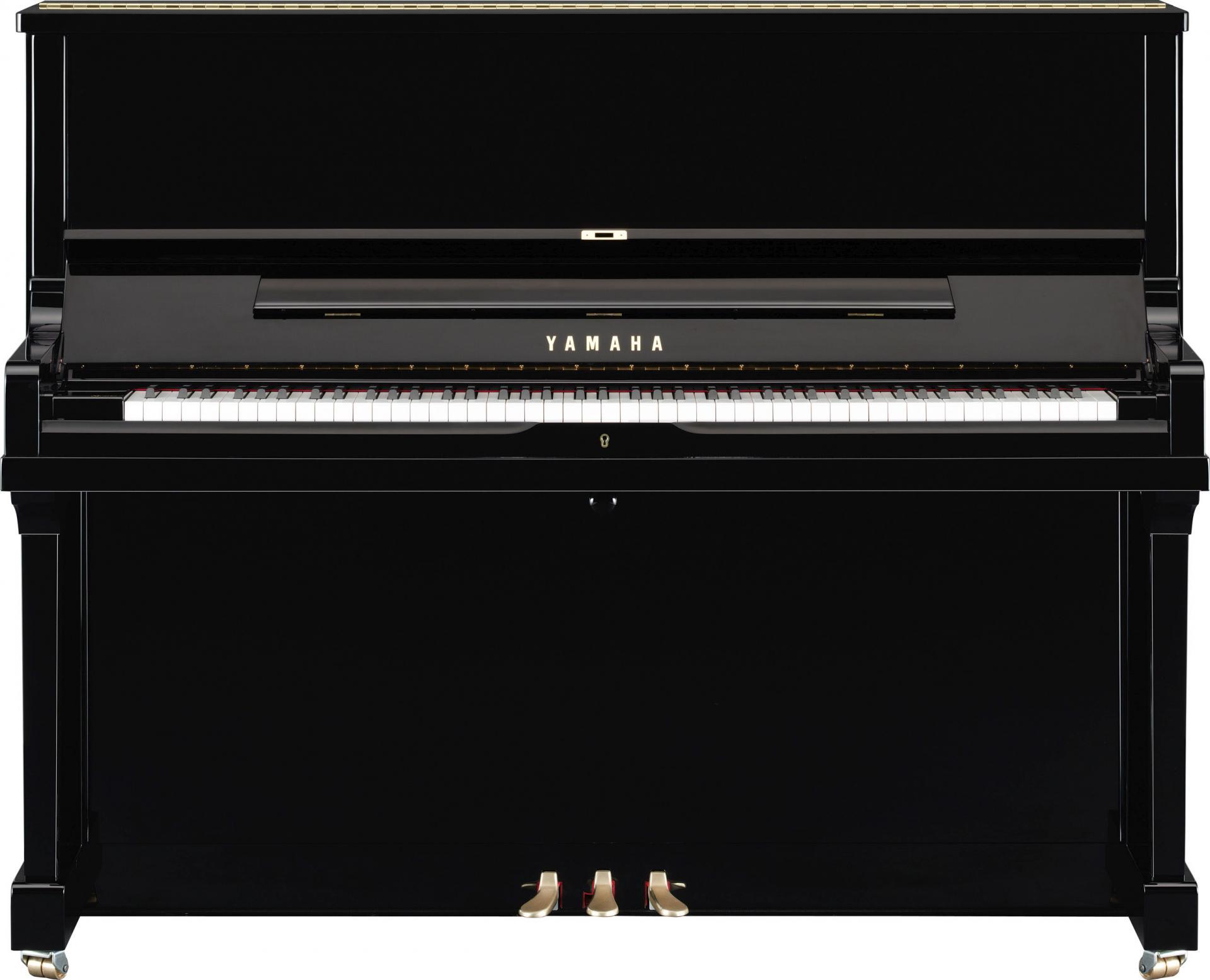 piano droit de concert yamaha mod le se 122 noir brillant. Black Bedroom Furniture Sets. Home Design Ideas