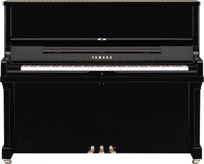 YAMAHA SE122-SH2 piano droit Silent  de CONCERT noir brillant 122 cm