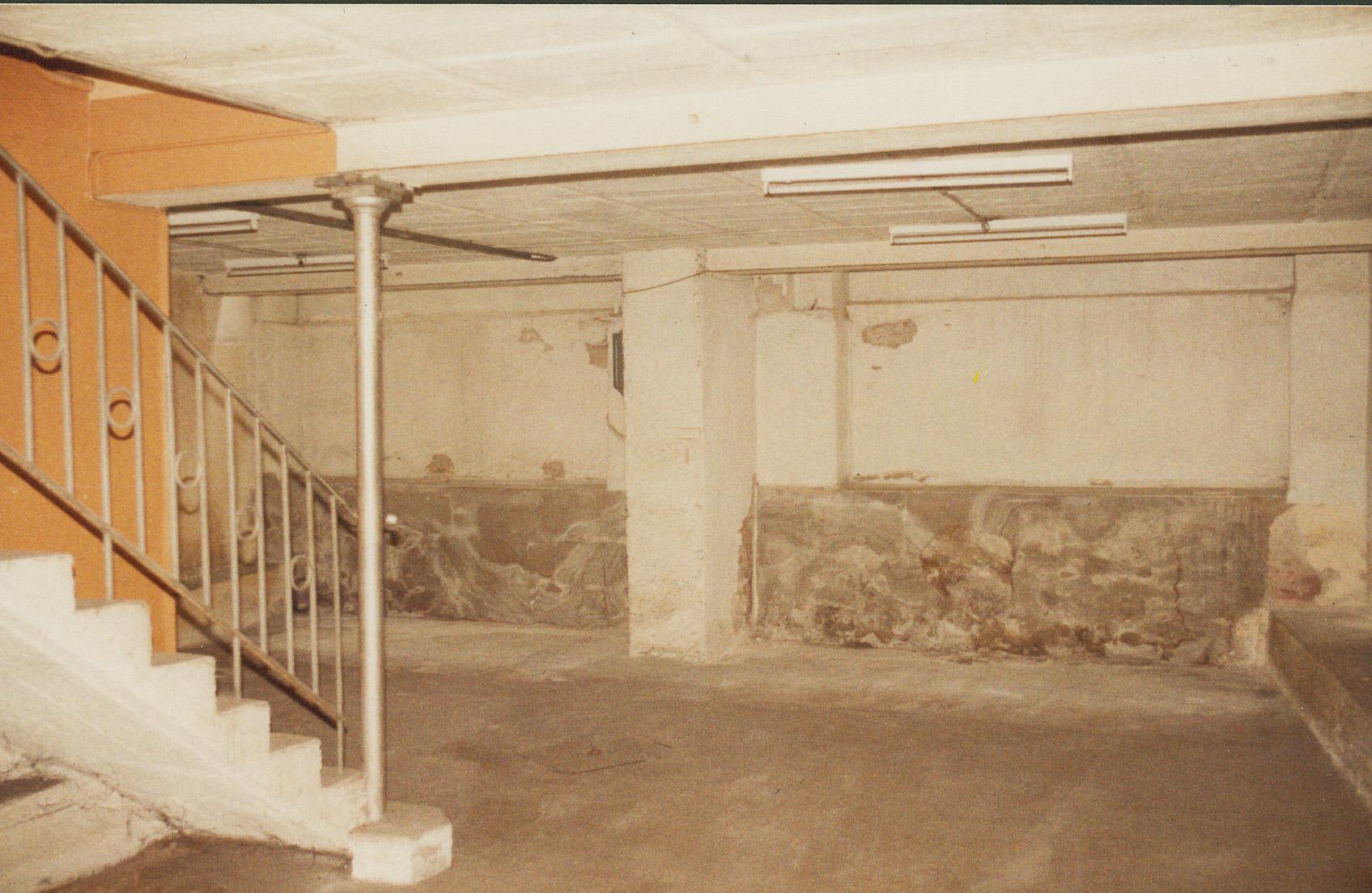 Sous sol avant 1984